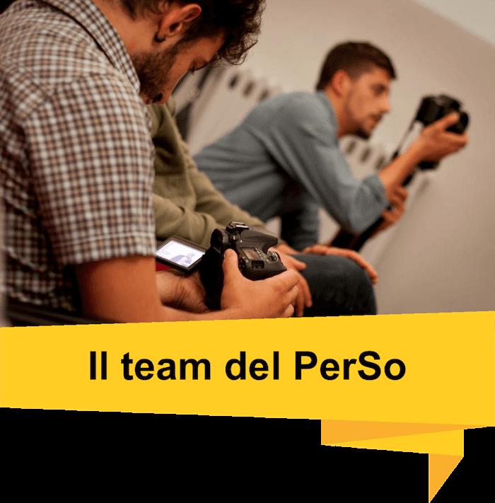 Il team del PerSo